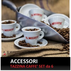 Coffee Cups with Logo El Negrito