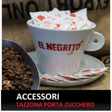 Tazzona porta Zucchero Logo El Negrito