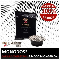 100 capsules A Modo Mio compatible ARABIC BLEND only € 0.24